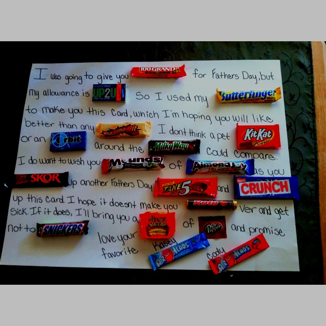 109 Best Images About Candy Cards On Pinterest Candy