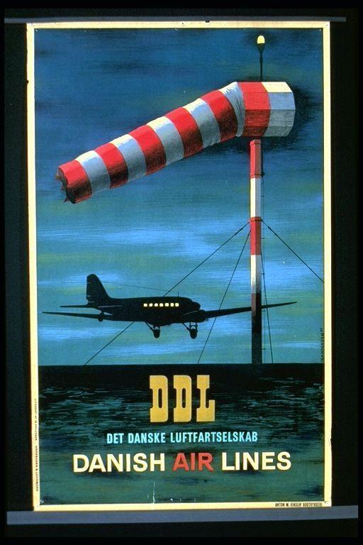 Det Danske Luftfartselskab: Danish Air Lines
