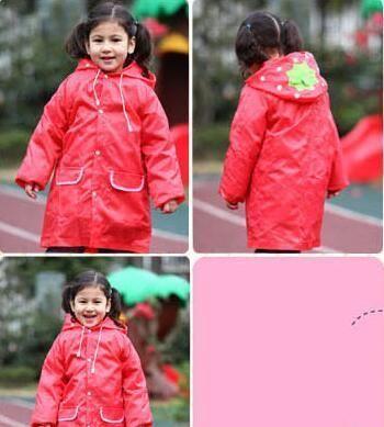1PC Kids Rain Coat Children Raincoat Rainwear/Rainsuit,Kids Waterproof Animal Raincoat Student Poncho