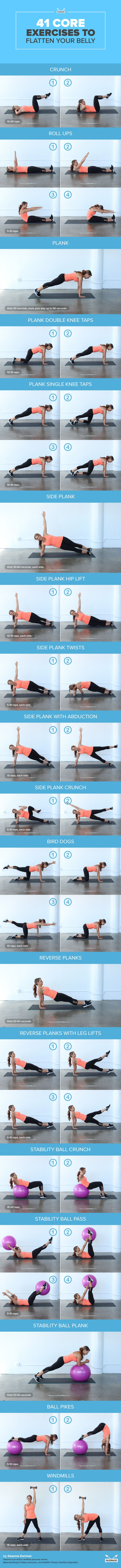 41_Core_Exercises_to_Flatten_Your_Belly-infog