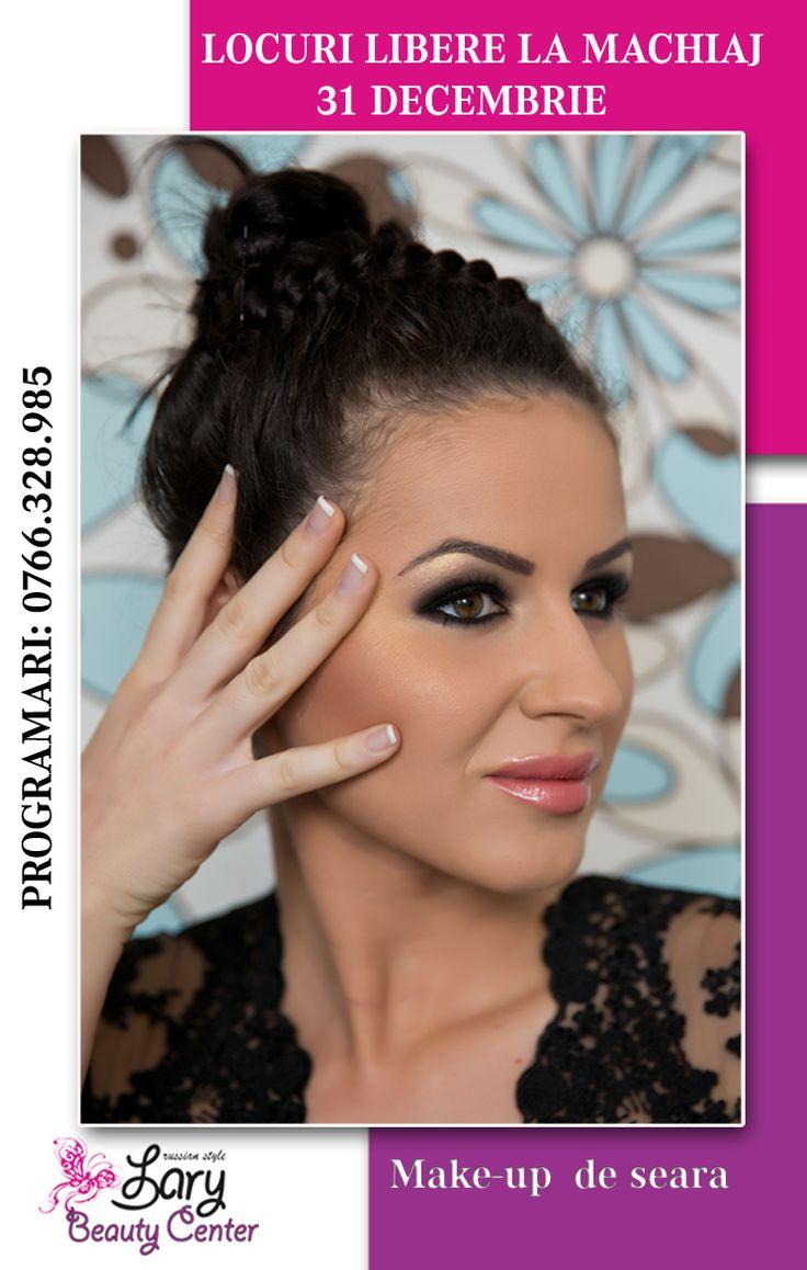 make-up de seara http://www.larybeautycenter.ro/