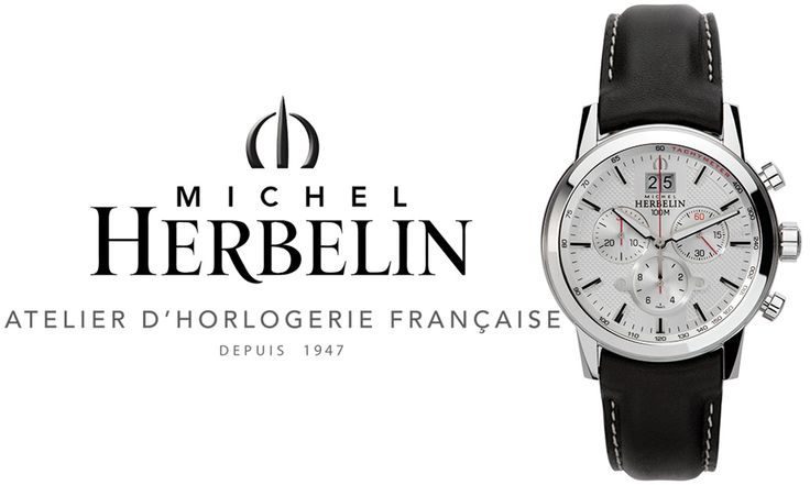 Men wear limited jewellery, so if they choose to wear a wristwatch, it is an important expression of personality. The best wristwatches are simple, versatile and sophisticated, like the Michel Herbelin Citadines – made for those who understand the power of a wristwatch. This watch features a Chronograph movement including hours, minutes, small second, subsidiary...