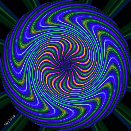 trippy optical illusions illusion amazing patterns fractals moving fractal mane tricks bart simpson mind op visual lsd visit