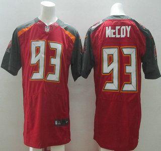 Men's NFL Tampa Bay Buccaneers #93 Gerald McCoy Red Elite Jersey