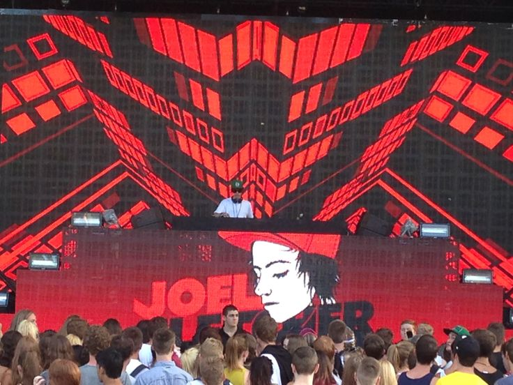 """Joel Fletcher"" performing at Avicii ""True Tour"" Riverstage Brisbane. Australia"