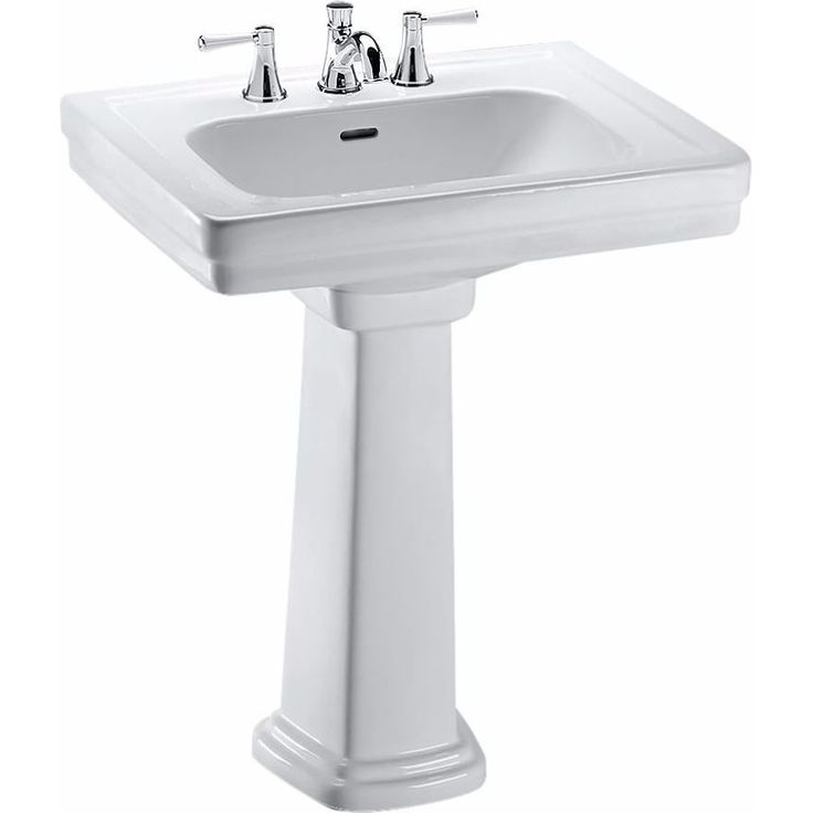Toto Promenade Lavatory Pedestal Sink with Single