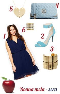 donna-a-mela-outfit-sera-2014-estate-curvy-plus-size-pancia-gambe-magre