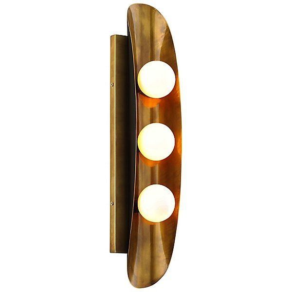 Hopper 3 Light Wall Sconce Wall Sconce Lighting Sconces