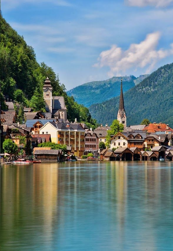 Lake Village, Hallstatt, Austria: