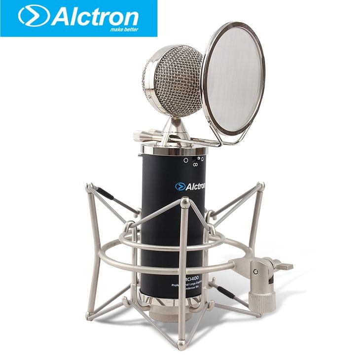 279.00$  Buy here - http://ali8o8.worldwells.pw/go.php?t=32668605990 - Alctron MC1400 Professional Multi-Pattern Large Diaphragm Recording Condenser Microphone, Studio Microphone.