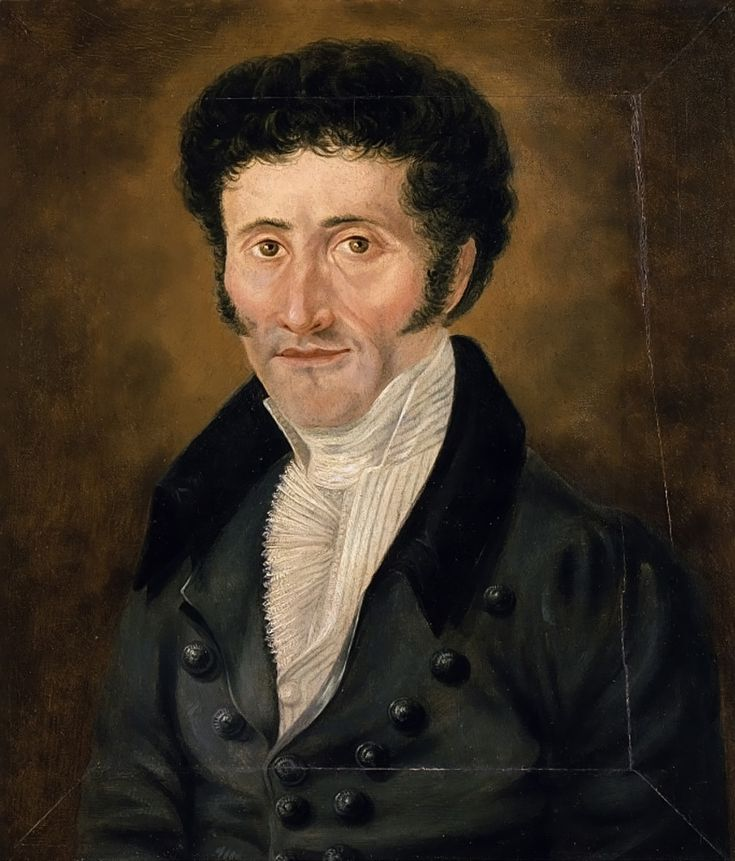 Portrait of E.T.A. Hoffmann, author of the 'The Nutcracker and the Mouse King'. Oil on wood, anonymous, before 1822, Nationalgalerie der Staatlichen Museen zu Berlin