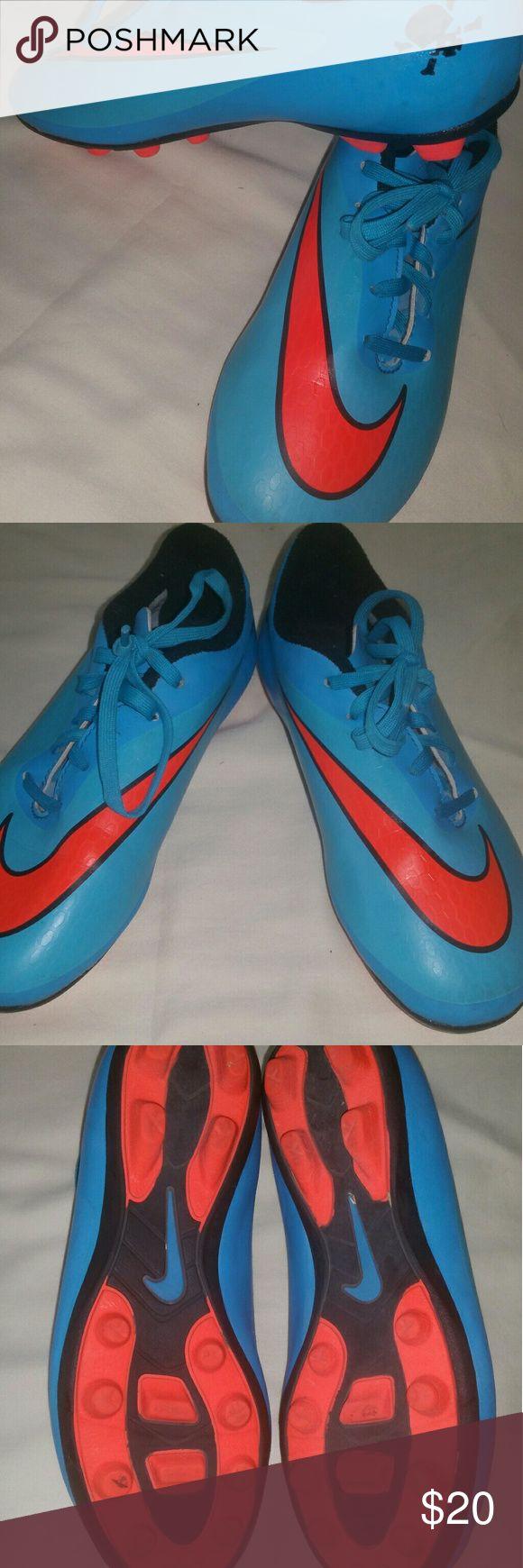Nike youth football cleats Never worn cleats. NIKE boys shoe. Nike Shoes Sneakers