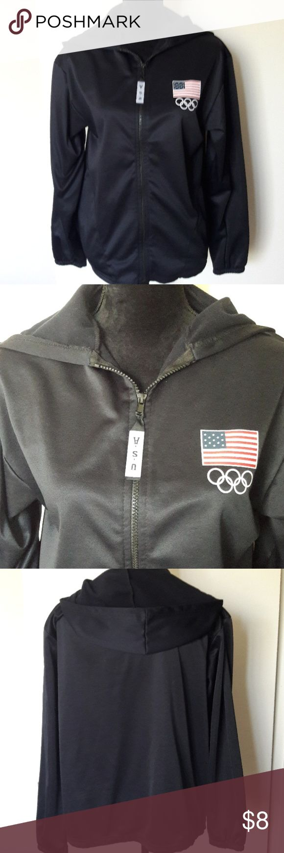 Olympic committee navy blue jacket. This jacket is in perfect condition, and made in the USA! Olympic  Committee Jackets & Coats