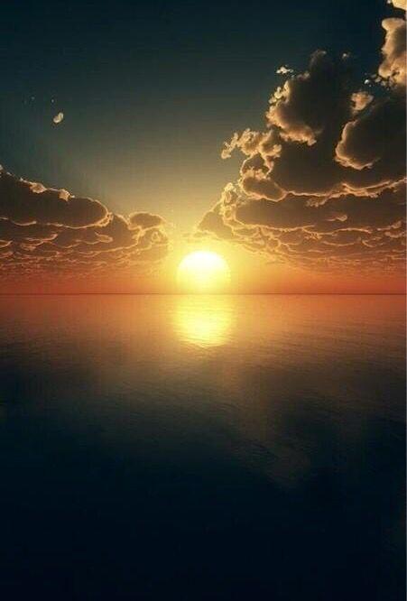 Peaceful sunset                                                       …