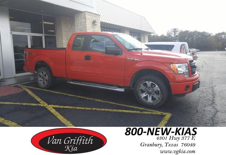 2013 Ford F150 extended cab with brand new Spray Liner! This beautiful 1-Owner Truck is for sale at Van Griffith KIA in Granbury for only $22,999+TT&L! Financing is available! #ComeSeeChad at #VanGriffithKIA #NotJustKIA  https://deliverymaxx.com/DealerReviews.aspx?DealerCode=PXVJ  #UsedTrucksInStephenville #UsedTrucksOfWeatherford #UsedTrucksHillsboro #UsedTrucksAtVanGriffithKIA #UsedFordWhiteSettlement #VanGriffithKia