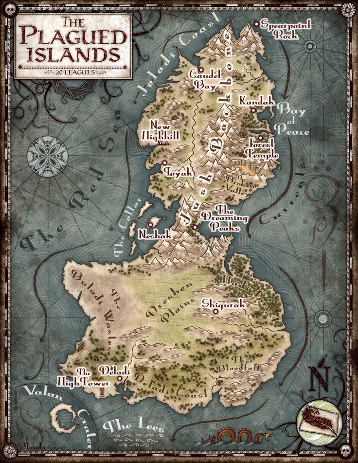 plagued islands map 4MBjpg 25003235 359 best ART Fantasy
