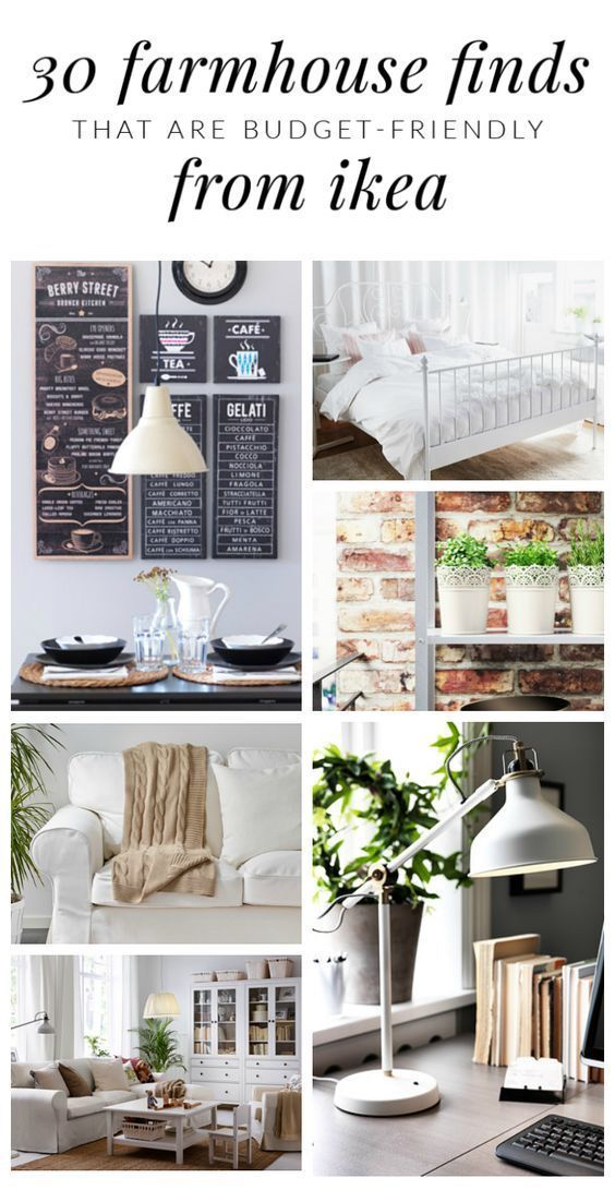 30 Budget-Friendly Farmhouse Finds From Ikea