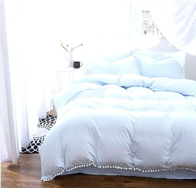 Pin By Bayu Wijayanto On Home Interior In 2019 Blue Comforter Blue Bedroom Blue Bedding