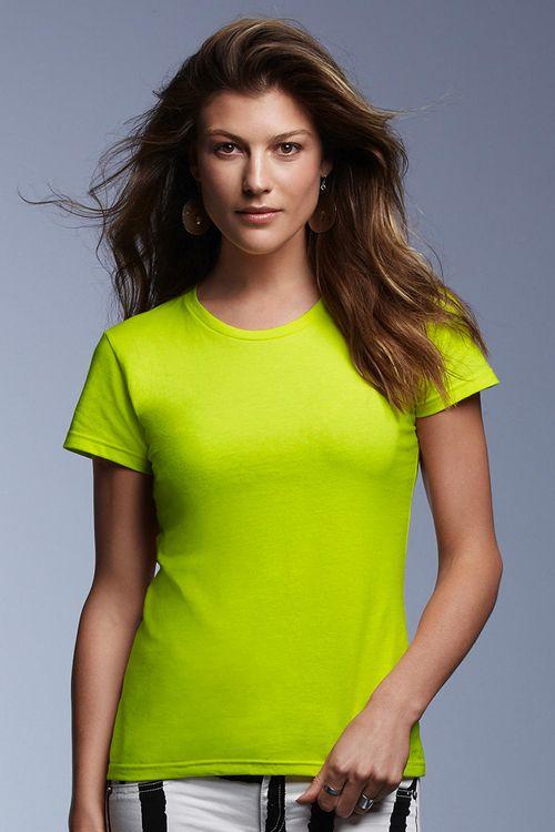 Tricou de damă Fashion Basic Anvil din 100% bumbac ring spun prespălat #tricouri #personalizate #imprimate #brodate #serigrafie