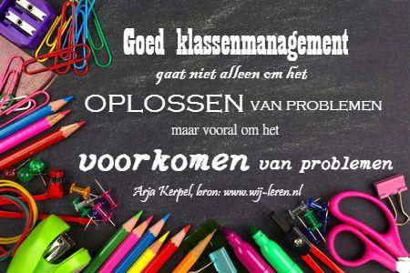 Goed klassenmanagement: voorkomen van problemen in plaats van oplossen