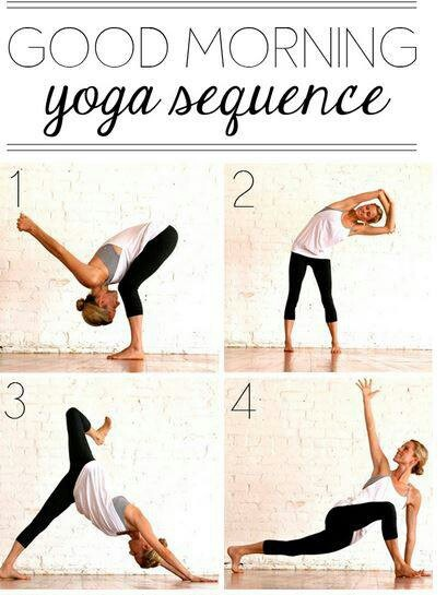 Good Morning Yoga : Good morning yoga sequence fitflicks peace love