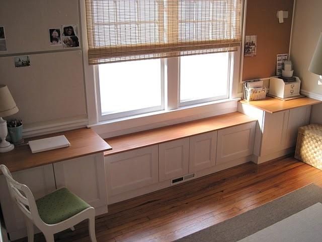 17 best images about shelf under window on pinterest for Window under kitchen cabinets