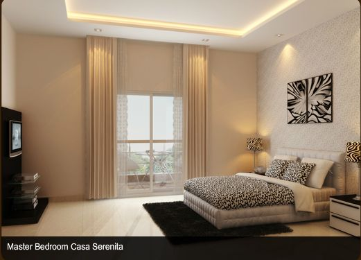 Sobha City Bangalore - Model Apartment Pictures - Bed Room