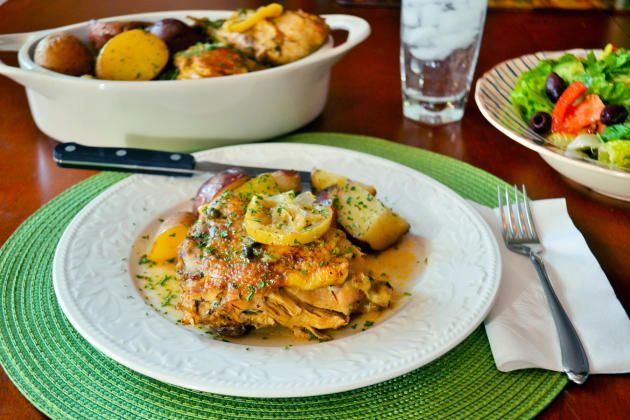 Healthy Slow Cooker Paprika Chicken.
