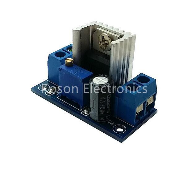 1PCS LM317 DC-DC Converters Buck Power Module Adjustable Linear Regulator