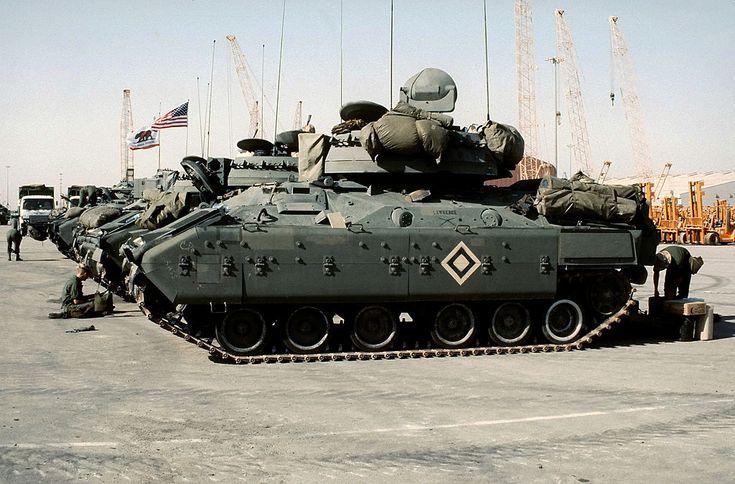 M3 Bradley Operation Desert Shield - 3rd Cavalry Regiment (United States) - Wikipedia