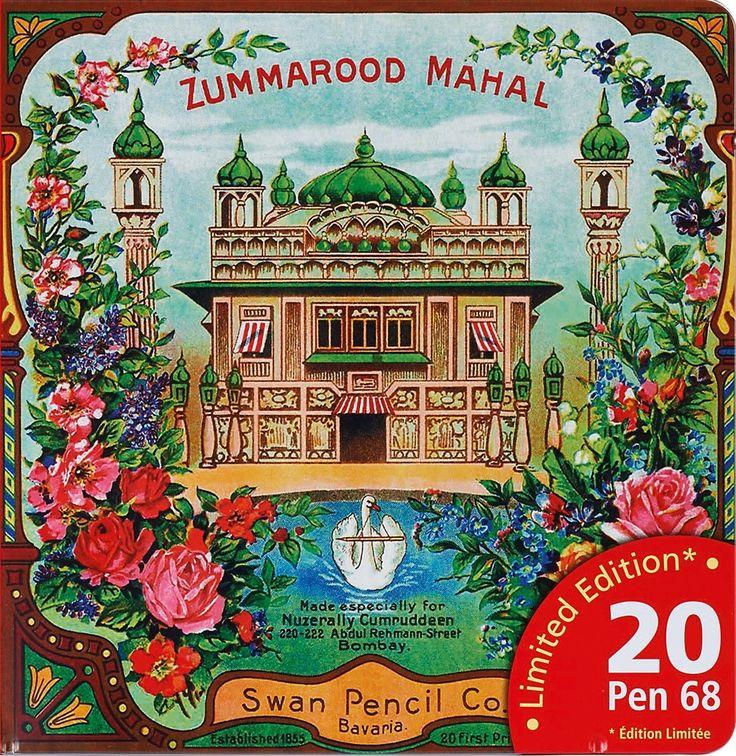 Filzstifte 'Zummarood Mahal' im Metalletui