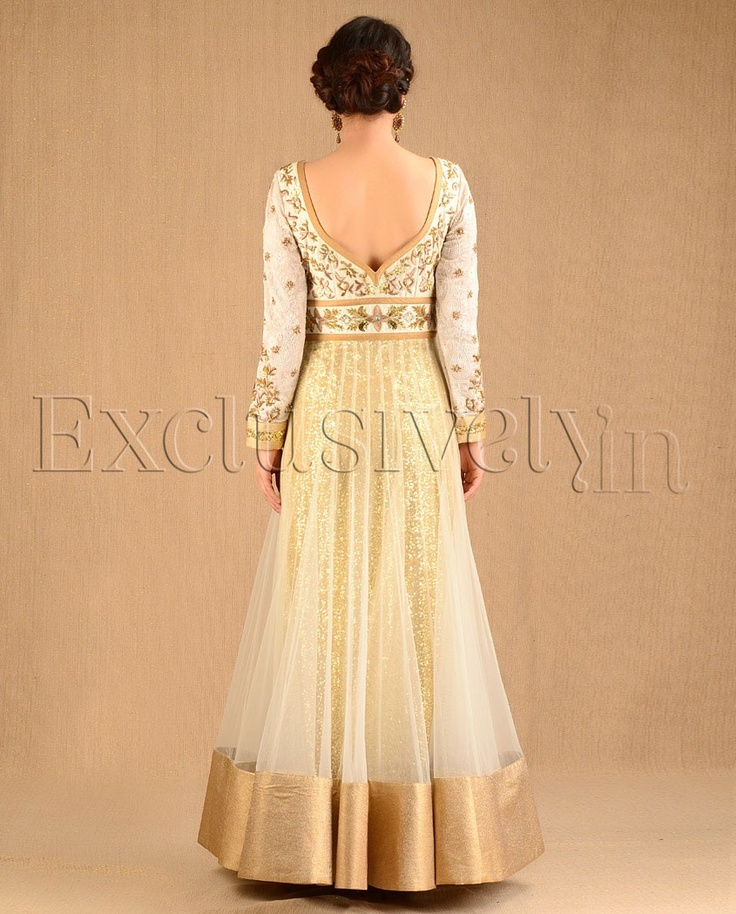 love the back of the Anarkali