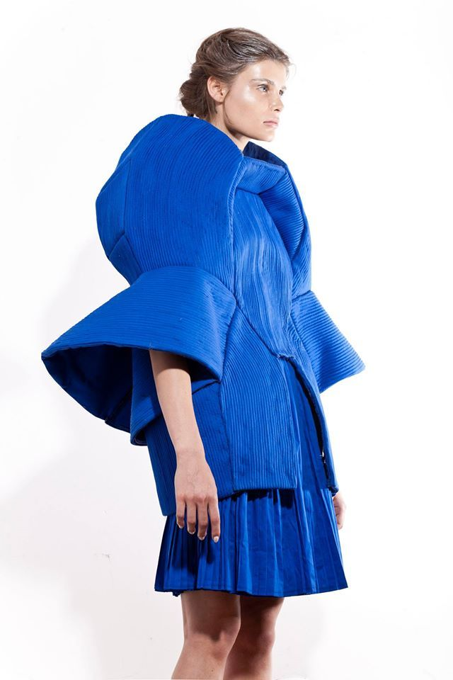 Aleksandra Kucharczyk | 2014 #fashion #experimental #dress #fashiondesign #fashiondesignschool #aspwarszawa #academyoffinearts #katedramody #fashiondepartment #fashiondesign #warsaw