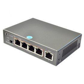 PoE коммутатор ATIS PoE-1005-4P/250m PoE-1005-4P/250m PoE-1005-4P/250m PoE комутатор 5 портов(4 PoE), передача питания и сигнала до 250м. скорость 100Мбит/с.Неуправляемый коммутатор PoE-1005-4P/250m позволяет осуществлять подачу питания по Ethernet (PoE) на любое устройство с поддержкой PoE на расстояние 250m, например, сетевую камеру. PoE-1005-4P/250m оснащен 5 портами, работающими на скорости 10/100 Мбит/с, 4 из которых поддерживает РоЕ, что является экономически выгодным решением для дома…
