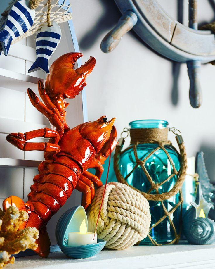 Make a splash with A.C. Moore's NEW Coastal decor