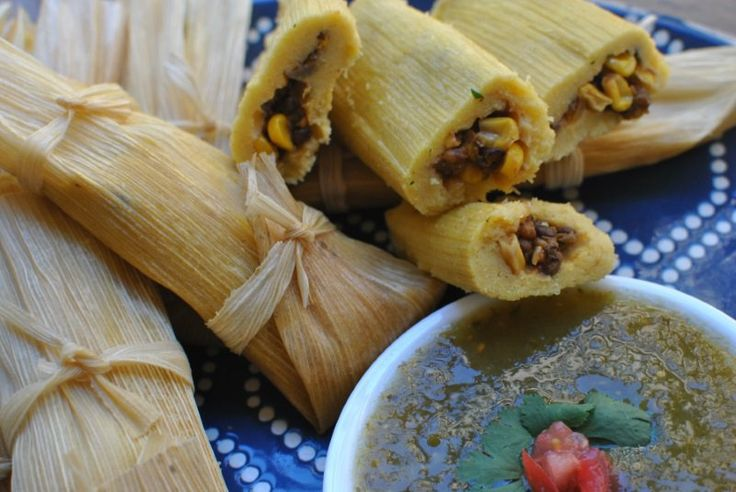 Try this savory recipe for vegan tamales filled with corn, lentils, and green chile. You'll want to eat them every day.
