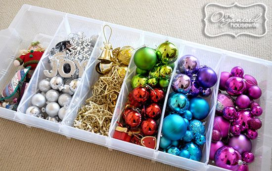 IHeart Organizing: Simple Ideas for Holiday Organization