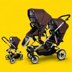 [ $21 OFF ] Easywalker Twins Baby Stroller Before And After The Double Baby Four Baby Accessories European Baby Strollers