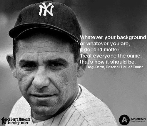 Yogi Berra ...hall of famer