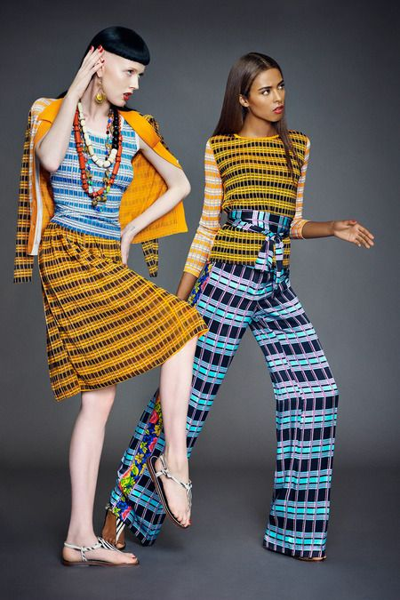 Duro Olowu Ready to Wear Spring / Summer 2014 Collection - like what's going on here a LOT