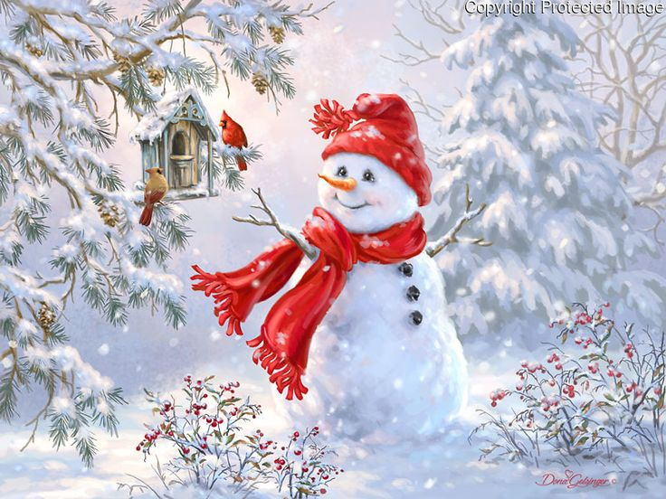 1504 - Woodland Snowman.jpg | Gelsinger Licensing Group