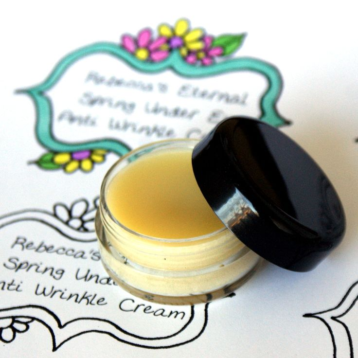 This natural under eye cream recipe was formulated to help minimize the effects of aging and improve the overall condition of sensitive under eye skin for natural DIY beauty.