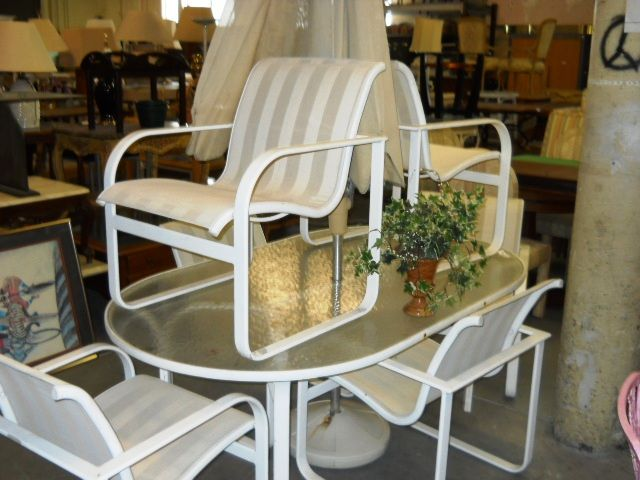 Perfect Outdoor Set, Located In Boca Raton, Florida.  Www.pastperfectconsignment.com Part 36