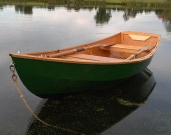 Duck Boat Plans Wooden Dingey Skiff Sailing by DigitaIDecades