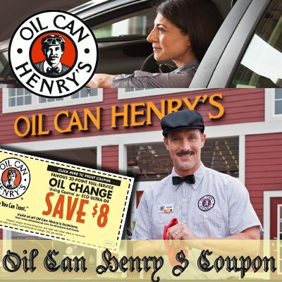 78+ images about Oil Can Henry S Coupon on Pinterest | Oil ...