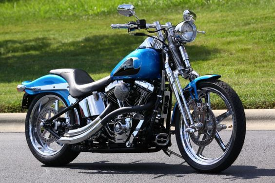 custom harley davidson springer | ... II: 2004 Harley-Davidson Softail Springer by southeast custom cycles