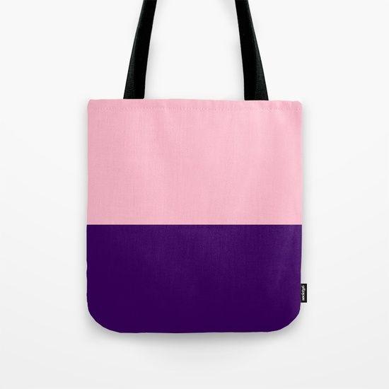 Pink Sky  and Purple Ocean Tote Bag