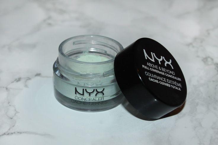 NYX makeup green concealer
