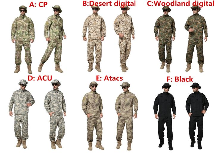 (52.79$)  Buy here  - Military clothing german camouflage clothes uniform combat shirt paintball tactical clothing for hunting