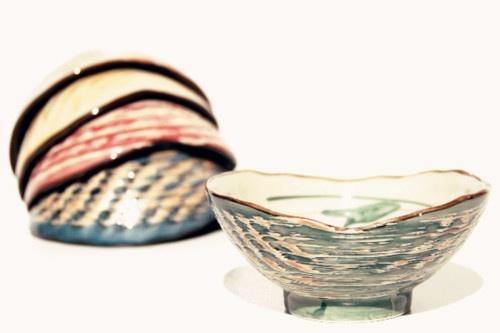 coloured shells